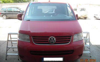 Výmena čelného skla VW Caravelle